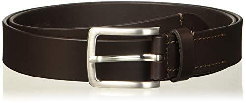 Springfield Básico Piel Cinturón, Marrón Oscuro, 85 para Hombre