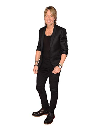 KEITH URBAN COUNTRY STAR LIFESIZE CARDBOARD STANDUP STANDEE CUTOUT POSTER FIGURE