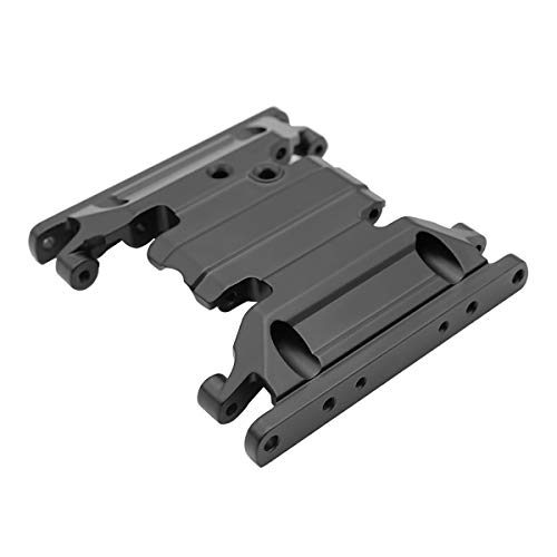 LCX Racing 1/10th RC Crawler Car Aluminum Center Skid Plate Transmission Mount for Axial SCX10 II 90046 90047, Upgrades Parts Accessories