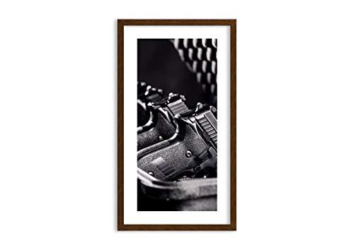 ARTTOR Cuadros Decoracion Dormitorios - Lienzos Grandes Y Pequeña - Cuadros Decoracion Salon con Marco - Temas Gráficos - Decoraciones para el Apartamento - F1MPA45x80-4004