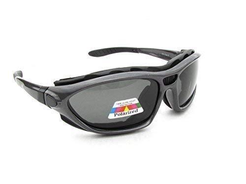 Alpland polariserende kitESURFbril, surfsportbril, zegel met softbag SF 3 polariserende glazen.