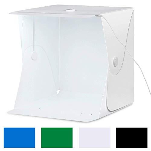 professionnel comparateur Boîte à lumière Amzdeal Photo Studio 40 * 40 * 40 cm, tente pliable pour la prise de vue, boutonnée… choix