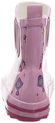 Beck Mädchen Prinzessin Gummistiefel, Pink (Rosa 03), 30 EU - 3