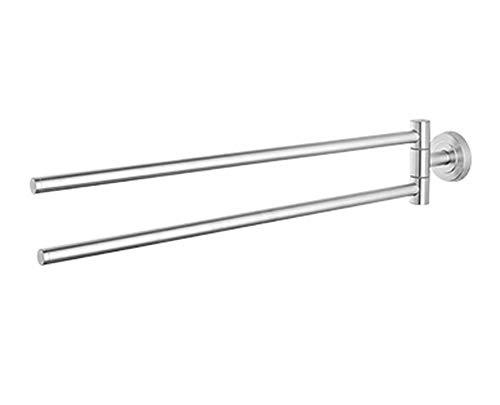 Handtuchhalter handtuchhalter bad Handtuchstange 2-Arm Handtuchstange Teleskop-Handtuchstange Ausziehbar von ca.: 29–50 cm Inkl Befestigungsmaterial Bis ca. 3 kg belastbar Leichte Montage