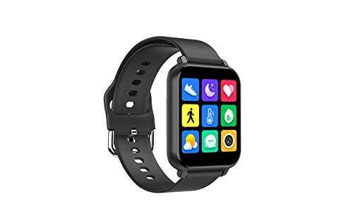 Smartwatch, Fitness-Tracker mit Herzfrequenzmesser/Pulsoximeter/Blutsauerstoffmonitor/Blutdruckmessgerät, wasserdichte Fitnessuhr, Schrittzähler-Smartwatch, geeignet für iOS Android