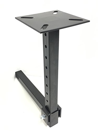 MAXXHAUL 80356 Hitch Mount Vise Plate/Holder (with Adjustable Height)