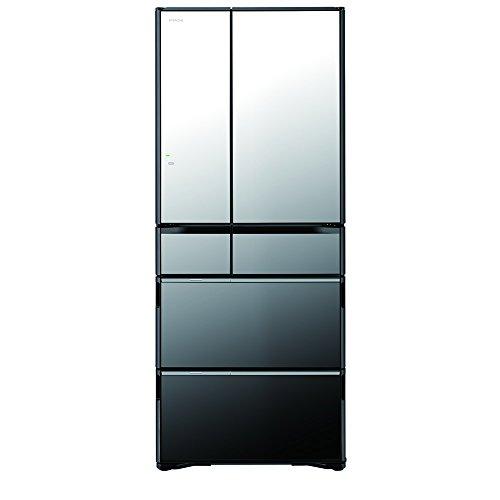 日立 真空チルド 冷蔵庫 ラグジュアリーWXシリーズ 555L クリスタルミラー R-WX5600G X