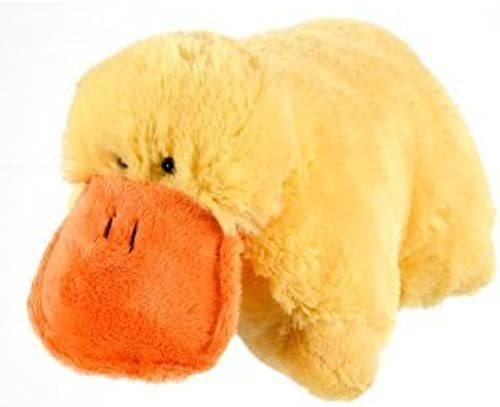 Plush amarillo Duck Pet Cushion Animal Pillow Large 18 by Pillow Pets