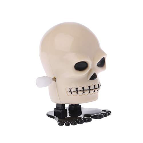 dongguan NUEEUDD Halloween Spielzeug für Kinder Halloween Clockwork Jumping Skull Mechanische Pädagogisches Spielzeug Streich Spiel Liefert