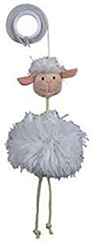 Trixie 45560 Schaf am Gummiband, Plüsch, 20 cm