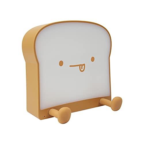 Blingpony Bonita luz LED para la noche, tostada con carga USB y temporizador, luz de dormir decorativa para dormitorios de niñas, luces regulables de dormitorio, el mejor regalo para mamás y niños