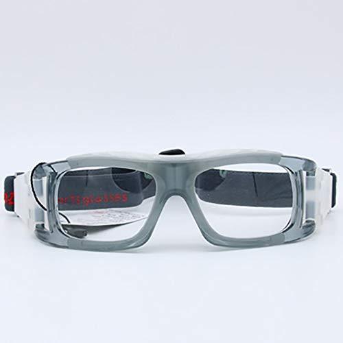 Unbekannt Basketballrahmen Fußball Sportbrillen Badminton Tennis Golf Ex-Schutzbrillen können mit Kurzsichtigkeit ausgestattet Werden (Color : A)