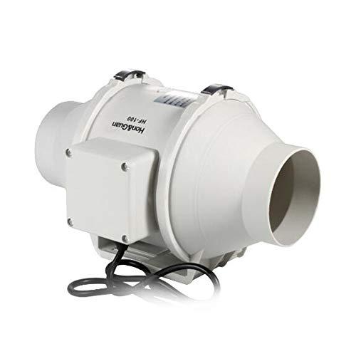 MEICHEN 4 '' Cappa ad Alta efficienza Misto di Scarico Flusso di Ventilazione Air System per Bagno Inline Duct Fan HF-100P