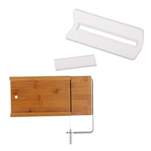 Milageto Praktisches Seifenfasen/Hobel Und Seifenschneider Schneidwerkzeug Drahtschneiderset