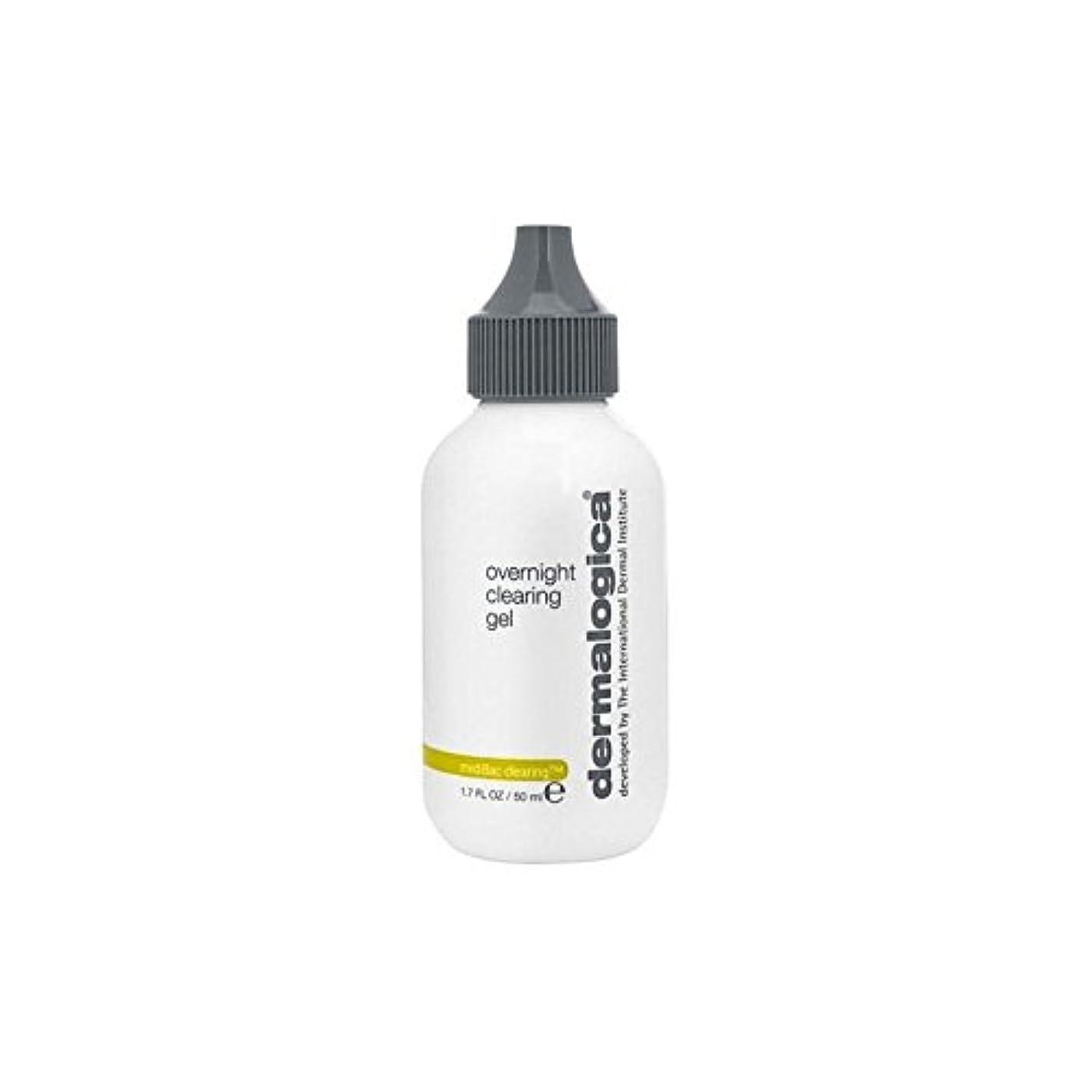 後継構成員接辞Dermalogica Medibac Overnight Clearing Gel (50ml) (Pack of 6) - ダーマロジカ一晩透明ゲル(50)中 x6 [並行輸入品]
