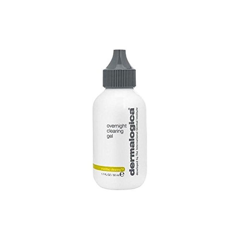 アラバマ憂鬱なフィヨルドダーマロジカ一晩透明ゲル(50)中 x4 - Dermalogica Medibac Overnight Clearing Gel (50ml) (Pack of 4) [並行輸入品]