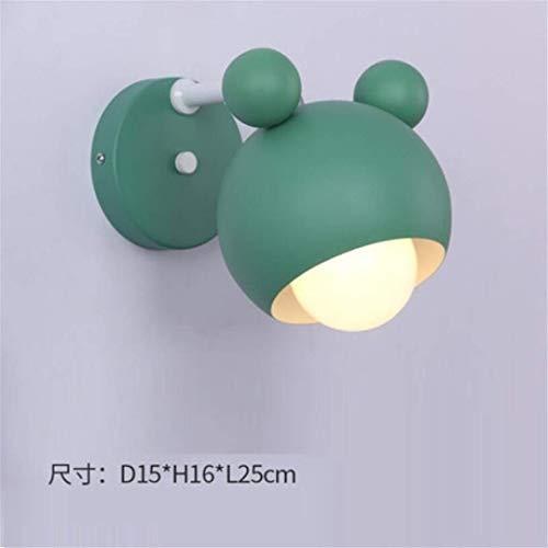 L-C plafondlamp Scandinavische wandlamp slaapkamer eenvoudige moderne nachtlampje led persoonlijkheid creatieve verlichting massief hout gang Aisle wandlamp