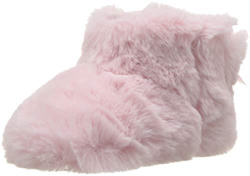 UGG unisex baby Jesse Bow Ii Fluff Boot, Pink, 2-3 Infant US