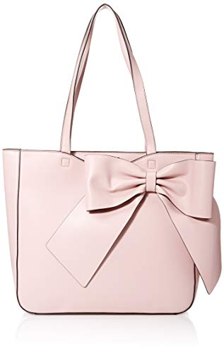 Karl Lagerfeld Paris Canelle Large Bow Tote, dusted Rose