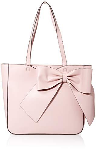 Karl Lagerfeld Paris Damen CANELLE FARA PU Bow Tote Tragetasche, Dusted Rose, Einheitsgröße