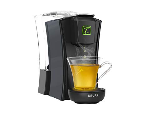 Krups Teekapselmaschine Mini T, Schwarz/Weiß MINI.T, schwarz Schwarz