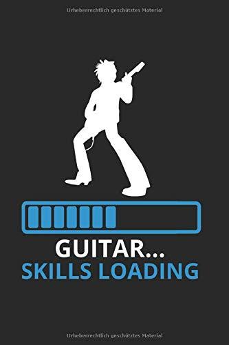 Notebook zum Laden von Gitarren-Fähigkeiten: Zeitschrift 6x9 Zoll mit 120 Seiten