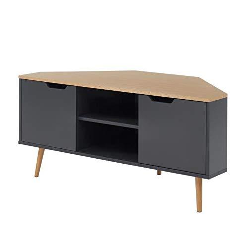 BAÏTA Mueble para TV, Gris, L115cm