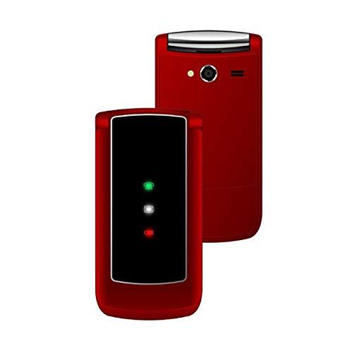 """MAJESTIC FLY TELEFONO GSM CON DISPLAY 2.8"""" A COLORI FOTOCAMERA INTEGRATA, ICONE LED PER LE NOTIFICHE BLUETOOTH, TORCIA LED E LETTURA FILES MULTIMEDIALI"""