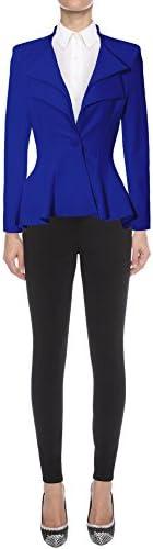 Royal blue blazer women _image0