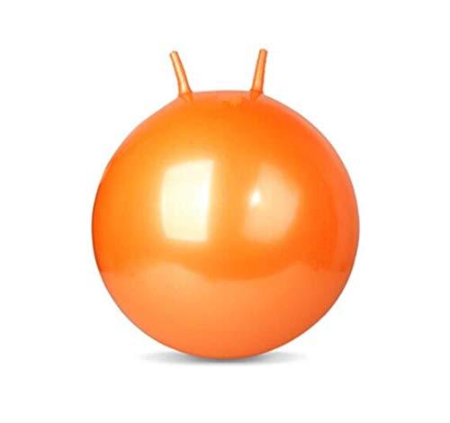 KLMNV;KLBVB Equipo de Entrenamiento Adulto Croissant, a Prueba de explosión de Rebote de la Bola, la Bola de Yoga, Pelota de Ejercicio Que Adelgaza 65cm Azul, Rosa, Naranja ayudas de Yoga,