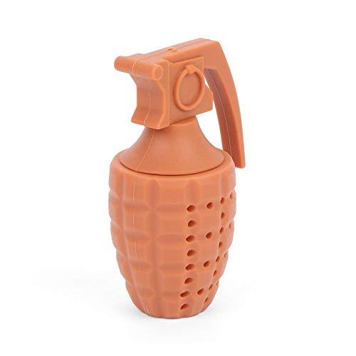 Grappige theezeef infuser schattige silicone tea filter levensmiddelecht grade knutseless Ideaal cadeau koffie grijs eenvoudig te bedienen voor losse leaf of kruidenthee