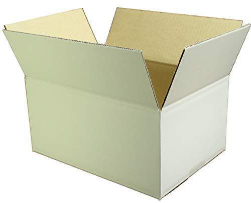 愛パックダンボール ダンボール箱 60サイズ 白 B5対応 120枚 段ボール 日本製 無地 薄型素材