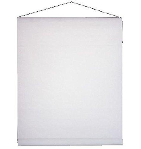 Ck - Tenture mariage intissé blanche 80cm x 25 mètres