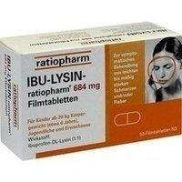 IBU LYSIN ratiopharm 684 mg Filmtabletten 50 St