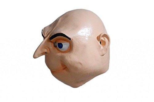 shoperama Hochwertige Latex-Maske GRU Ich einfach unverbesserlich Minion Non-Toxic