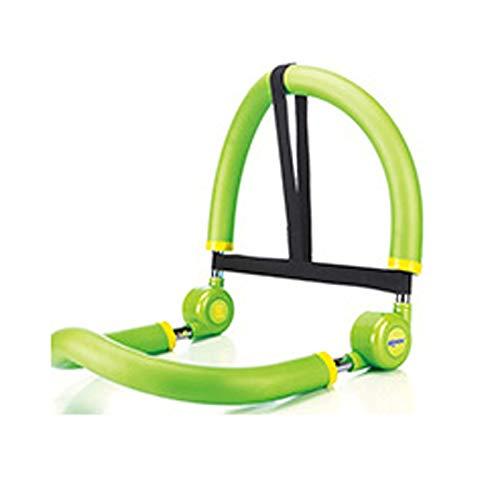 LRL Equipo de Aptitud en el hogar Equipo de Abdomen para el hogar - Cuerpo Shaper Sit-Ups Fitness Rally Cintura Delgada Abdomen Inicio Equipo de Aptitud Fácil Entrenamiento Abdominal (Color : Green)
