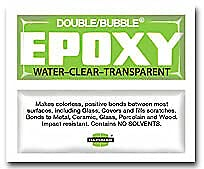 10 Pcs of Double Bubble Water-Clear Epoxy Green-Label Charlotte Mall free