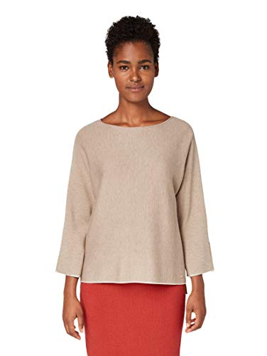 TOM TAILOR dames pullover Double Face Sweater