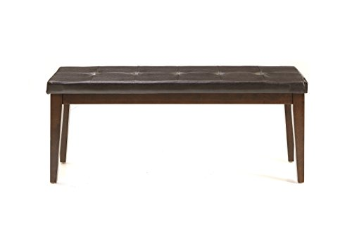 Intercon Kona Backless Dining Bench with PU Seat