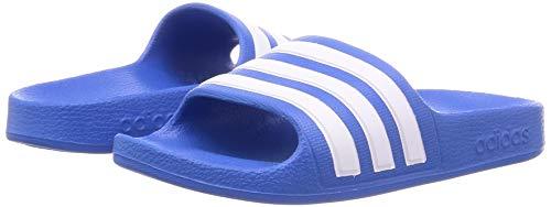 adidas Aqua Adilette, Unisex Kids' Sandal, True Blue/Ftwr White/True Blue, 3 UK