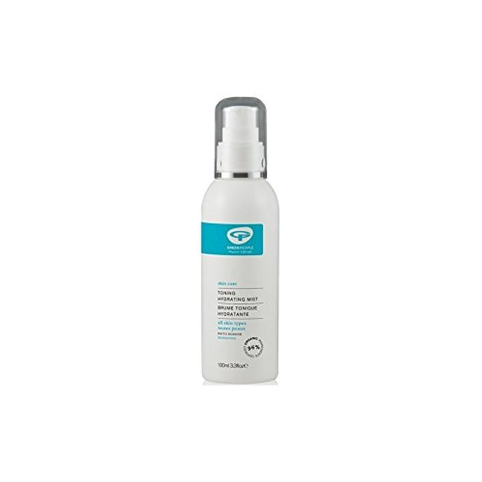 。干渉する用心深いGreen People Toning Hydrating Mist (100ml) (Pack of 6) - 水和ミスト調色緑人(100ミリリットル) x6 [並行輸入品]