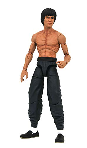 DIAMOND SELECT TOYS Bruce Lee (Shirtless Version) Select Series 2 Action Figure