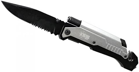 5 in 1 Survival Very popular Knife Wholesale LED with Fire Flashlight Starter