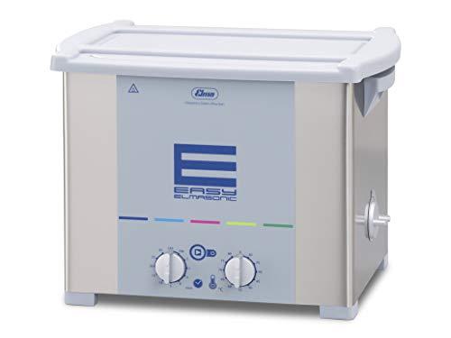 Elmasonic Easy 100H Ultraschallreinigungsgerät mit Heizung 10 Liter 37kHz 230V made in Germany Reinigung von Schmuck,Uhrenteile, Abdrucklöffel, Brillen, Metallteile, Laborinstrumente