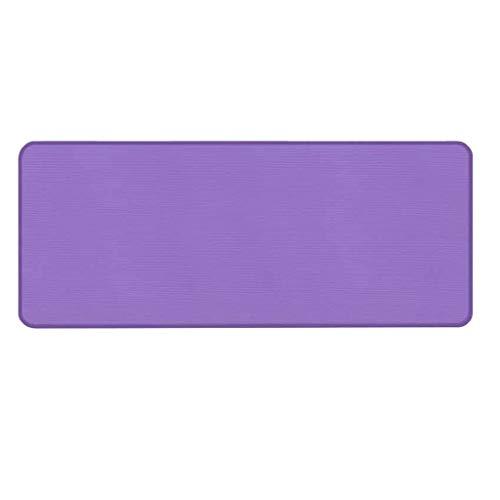 Andouy Yogamatte Fußmatten aus Hochdichtem Schaumstoff rutschfest Trainingsmatte – 183X60X1CM – für Gym Yoga Sport Gymnastik Fitness Pilates(183X60X1CM.Lila-1)