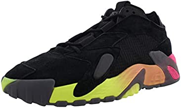 adidas Mens Streetball Lace Up Sneakers Shoes Casual - Black,Orange,Pink,Yellow - Size 8.5 M