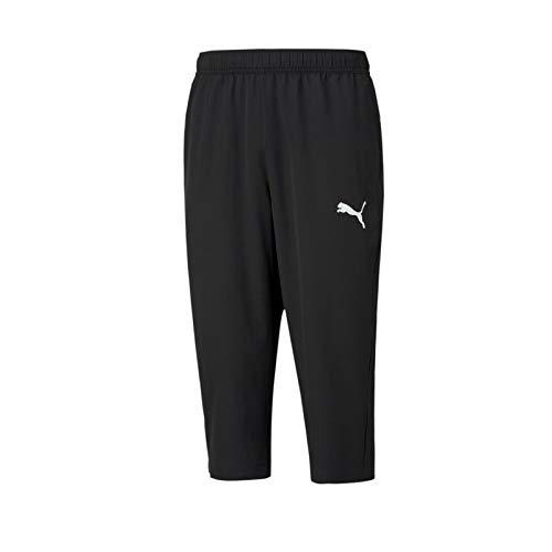 PUMA Active Woven 3/4 Pants Chándal, Hombre, Black, XXL