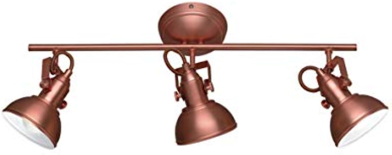 Reality Gina–Lampe, E14, IP20, 230V Mit 3 Lichtern kupfer
