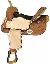 Billy Cook Saddlery Runnin' Tres Aces Racer Saddle Chestnut W/roughout 15