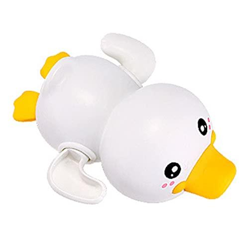Wenyounge 1 Pieza de Juguete de bañera sin BPA, Juego de Agua al Aire Libre, Pato Flotante, Mini Modelo de Pato, Juguete Educativo, Juguetes de baño para niños pequeños